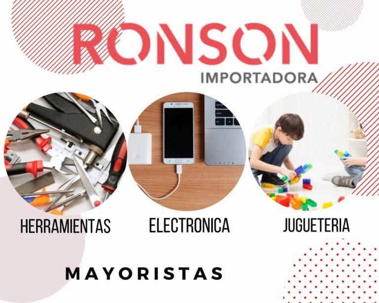 ronson-importadora-mayoristas